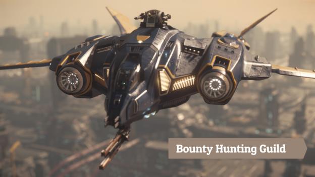 Bounty Hunting Vanguard Sentinel