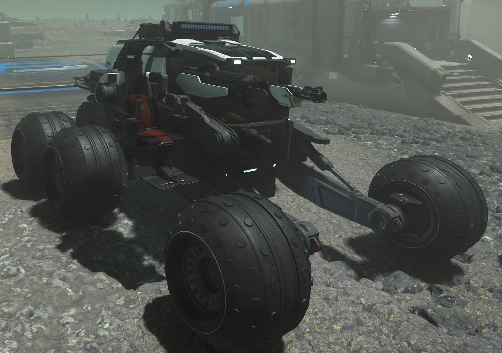 ROC DS földi jármű