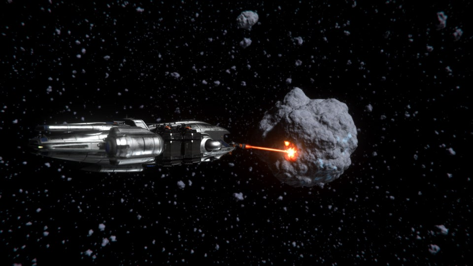 Prospector Asteroida bányászat